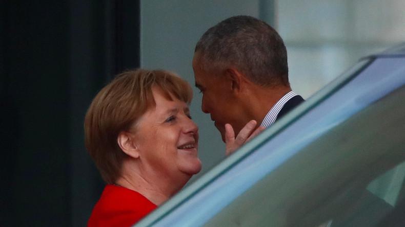 Obama zu Besuch in Deutschland: 5.000 Euro für einen feuchten Händedruck und Selfie