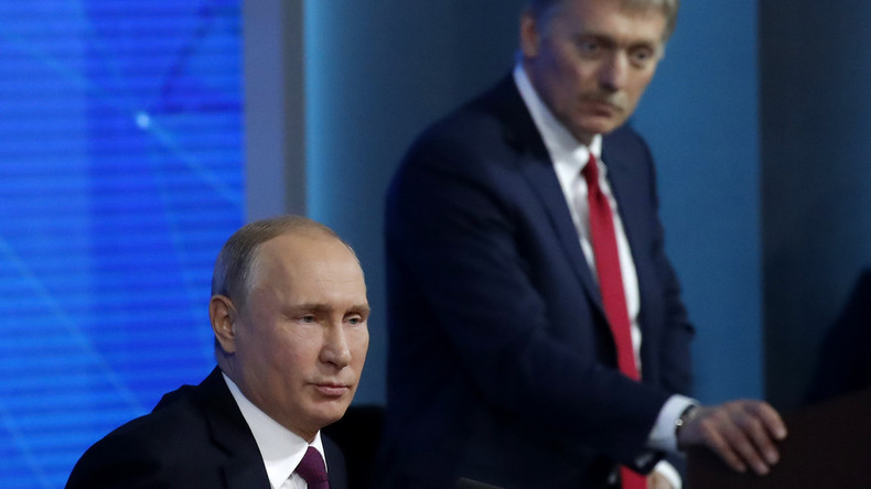 Kreml-Sprecher: Russland beobachtet Situation in Libyen aufmerksam und steht für friedliche Lösung