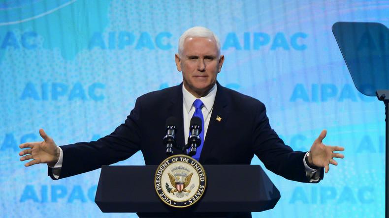 """LIVE: """"Alle Optionen auf dem Tisch"""" US-Vizepräsident Mike Pence äußert sich zu Venezuela [englisch]"""