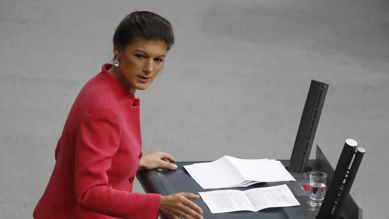 Wagenknecht: Linke spricht nicht mehr die Sprache der ärmeren Schichten