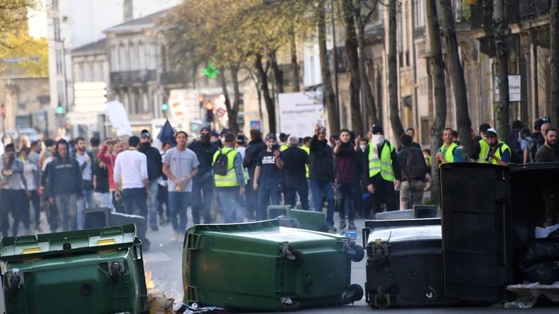 LIVE: Gelbwesten-Protest Akt XXI – Demonstration in Paris zum 21. Mal in Folge