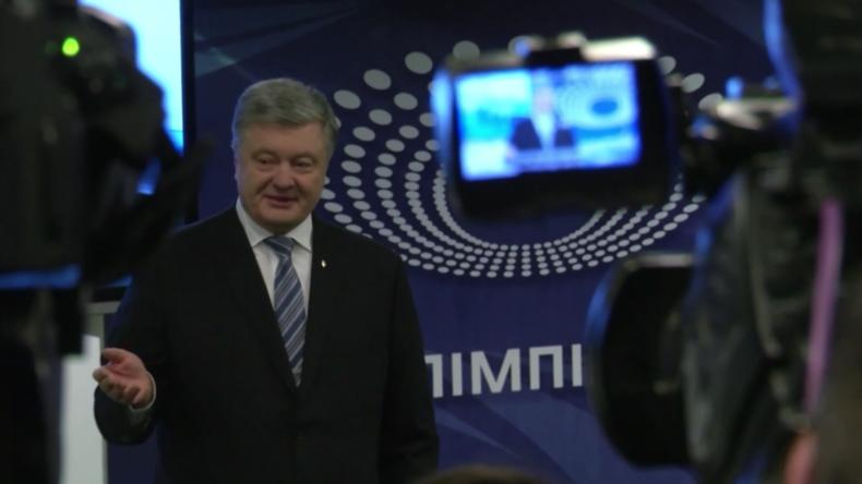 """Ukraine: """"Debatte ist keine Show"""" - Poroschenko besteht Bluttest"""