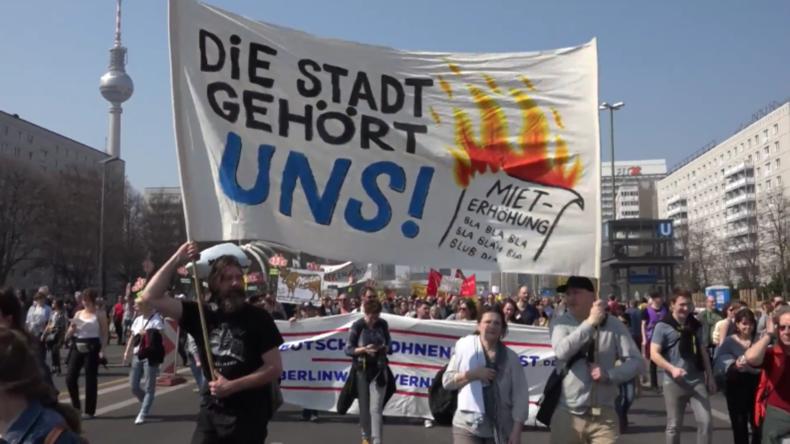 Deutschland: Tausende an Kundgebung in Berlin gegen steigende Mietpreise