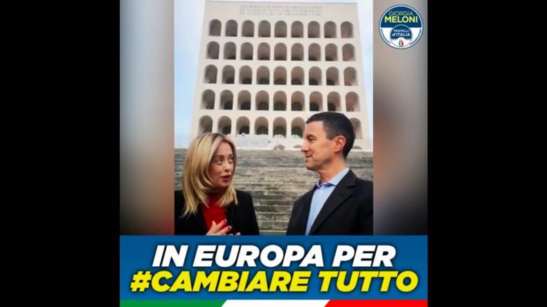Mamma mia: Italienische Partei nominiert Mussolini-Enkel für EU-Wahlen