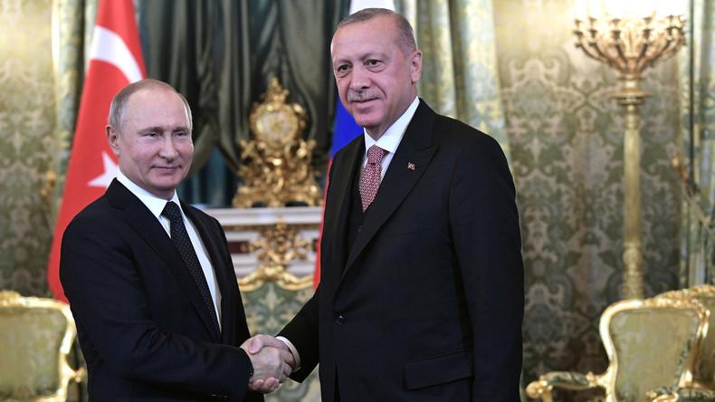 LIVE: Pressekonferenz von Putin und Erdoğan in Moskau