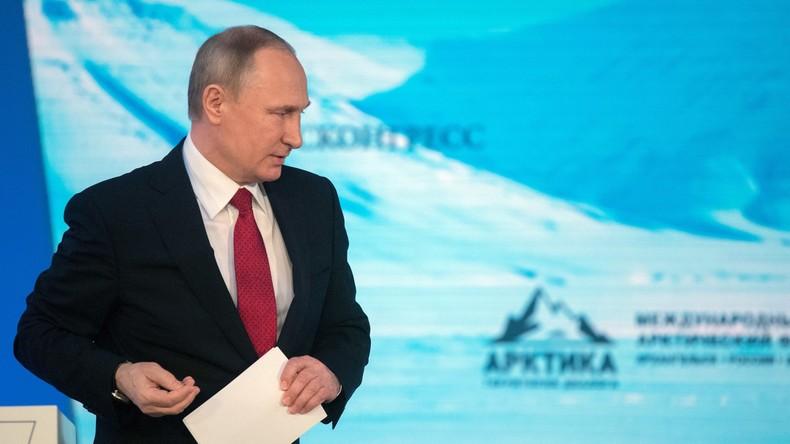 LIVE: Putin spricht auf dem 5. Internationalen Arktis-Forum (Deutsche Simultanübersetzung)