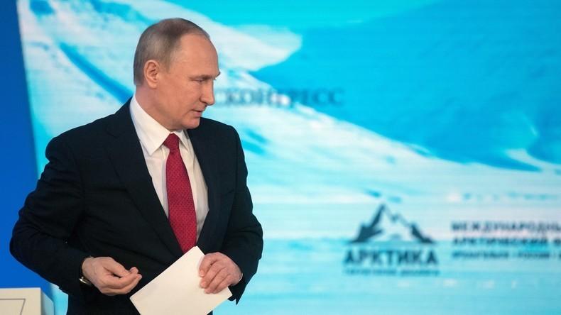 Video: Putin spricht auf dem 5. Internationalen Arktis-Forum (Deutsche Simultanübersetzung)