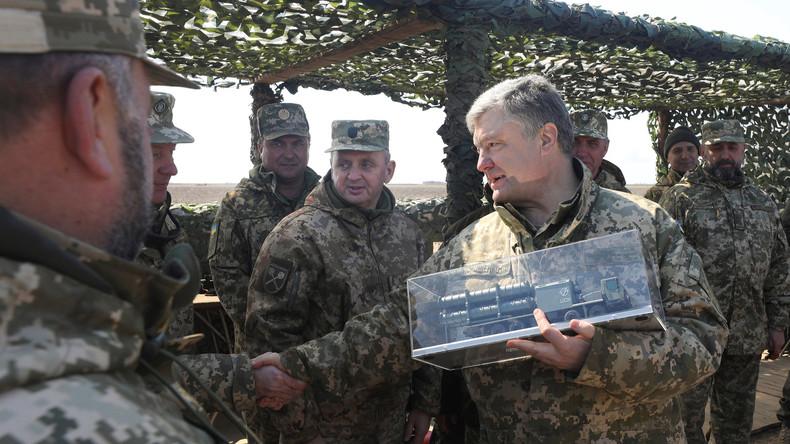 Ukraine: Präsident Poroschenko brüstet sich mit neuer Mittelstreckenrakete
