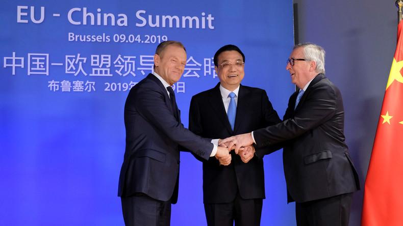 LIVE: Juncker und Tusk geben auf EU-China-Gipfel Erklärungen ab