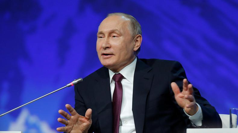 """Putin zum Mueller-Bericht: """"Völliger Unsinn"""" - Ausdruck der Krise im politischen System der USA"""