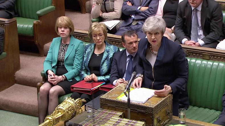 LIVE: Theresa May stellt sich den Fragen der Abgeordneten zum Brexit