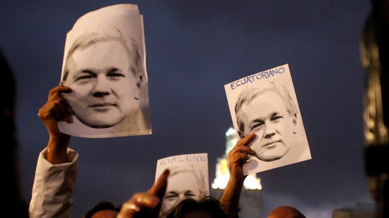 """WikiLeaks wirft Ecuador """"flächendeckende Überwachung"""" von Julian Assange vor"""