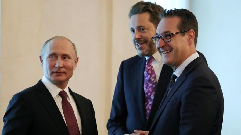Österreichs Geheimdienst wegen Russland-Nähe der FPÖ international isoliert