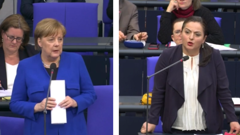 "Dagdelen konfrontiert Merkel: ""Wann stoppen Sie den Waffenexport in Kopf-ab-Diktatur Saudi Arabien?"""