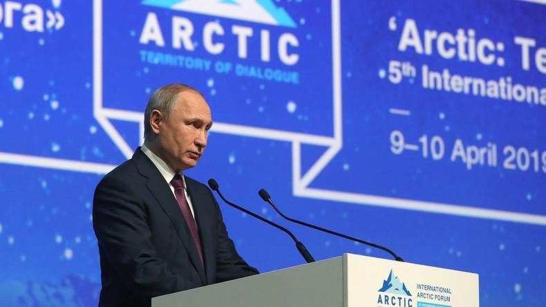 Putin verspricht Unternehmen besondere Vergünstigungen, die in der russischen Arktis investieren