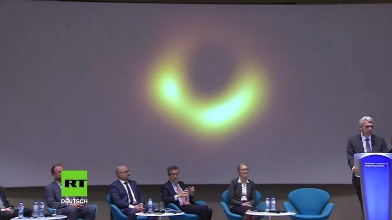 Wissenschaftlicher Durchbruch – Erstmals Abbildung eines Schwarzen Lochs gelungen