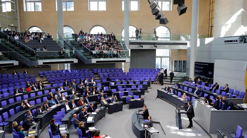 LIVE: 95. Sitzung des Deutschen Bundestages – Debatte um Russlandverhältnis der AfD