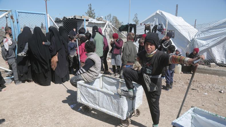 Flüchtlingscamp in Nordsyrien: Russisches Militär warnt vor einer humanitären Katastrophe