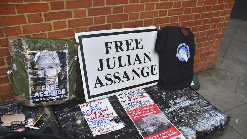 LIVE vom Amtsgericht in Westminster nach der Verhaftung von Julian Assange