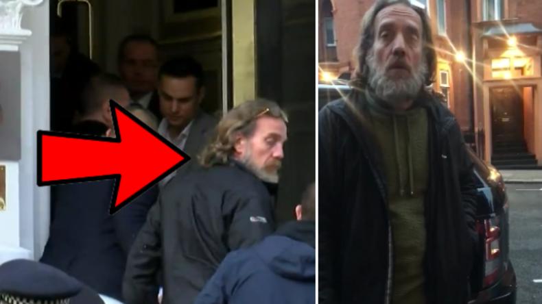 London: Aktivisten enttarnen Undercover-Agenten, die Assange verhafteten