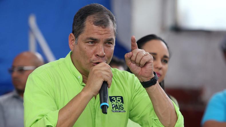 Rafael Correa zu Assanges Festnahme: Ecuadors Präsident Moreno könnte mit Judas mithalten (Video)