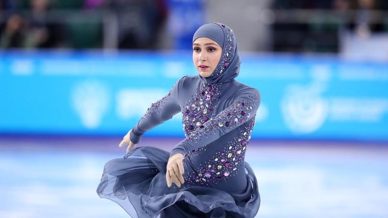 Erste Eiskunstläuferin mit Kopftuch: Zahra Lari – Die Revolution auf dem Eis