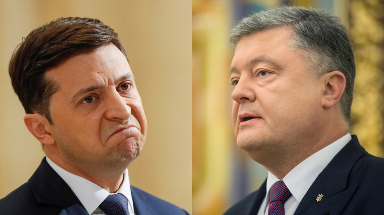 Poroschenko und Selenskij liefern sich Schlagabtausch am Telefon