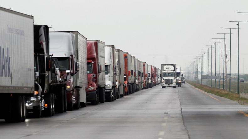 Mexiko drängt USA zur Beschleunigung der Grenzabfertigungen