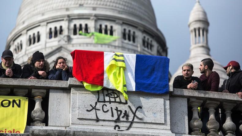 """LIVE: Gelbwesten demonstrieren in Paris nach """"Nationaler Debatte"""""""