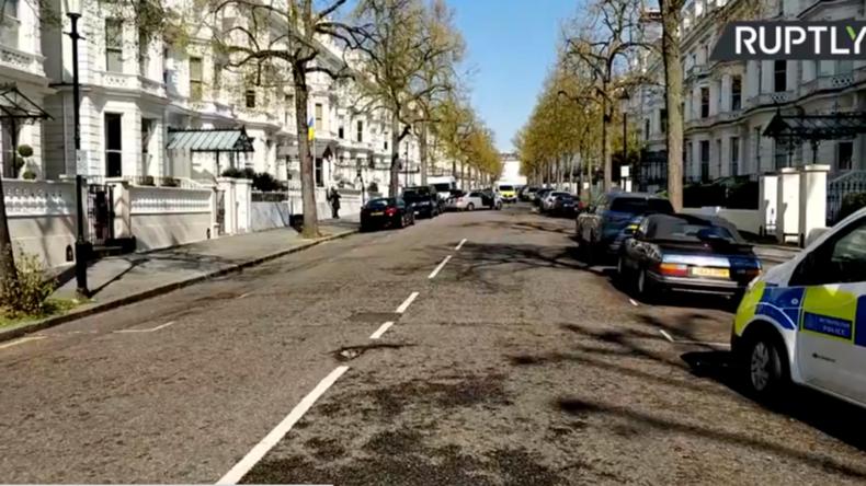 Schüsse vor der ukrainischen Botschaft in London nach Kollision mit Wagen des Botschafters