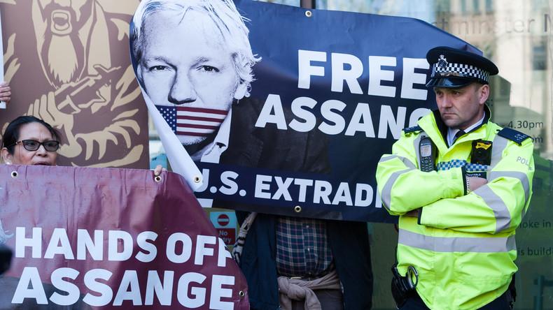 Mit dem Schweigen zur Assange-Verhaftung biedert sich das deutsche Establishment den USA an