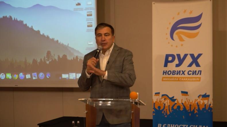 Saakaschwili zu ukrainischen Wahlen: Selenskij wird gewinnen – und dann ersetzt werden