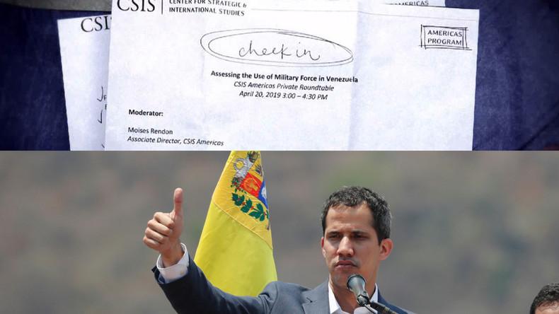Geheimes Treffen über militärische Option der USA enthüllt Schlüsselpersonen zur Invasion Venezuelas