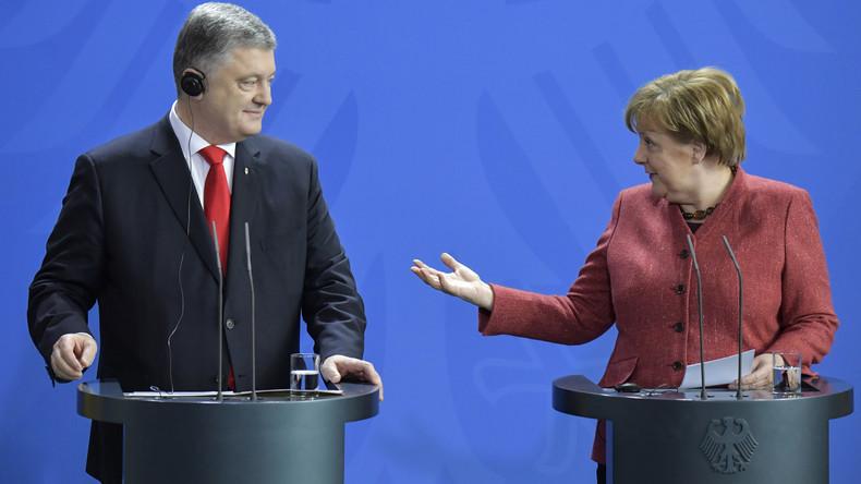 SPD kritisiert Merkel wegen Poroschenko-Besuch in Berlin
