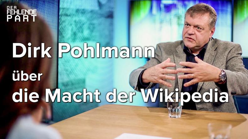 """""""Wikipedia: Das mächtigste Medium Deutschlands"""" – Gespräch mit Dirk Pohlmann"""