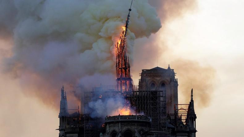 Live-Updates aus Paris: Verheerender Brand der Kathedrale Notre-Dame – Struktur offenbar gerettet