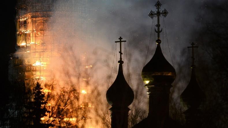 Die verheerendsten Brände christlicher Kirchen seit 2000