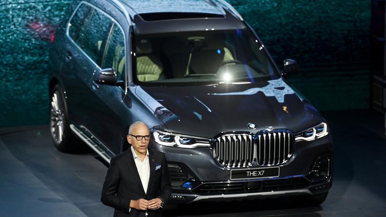 BMW setzt auf Entspannung im Handelsstreit zwischen China und den USA