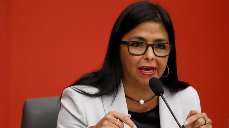 Vizepräsidentin Venezuelas: USA, Brasilien und Kolumbien bereiten militärische Intervention vor