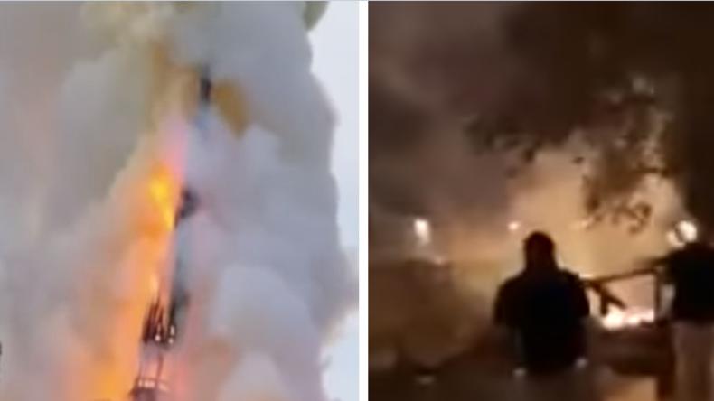 Al Aqsa Mosche in Jerusalem brannte zeitgleich mit Kathedrale Notre-Dame