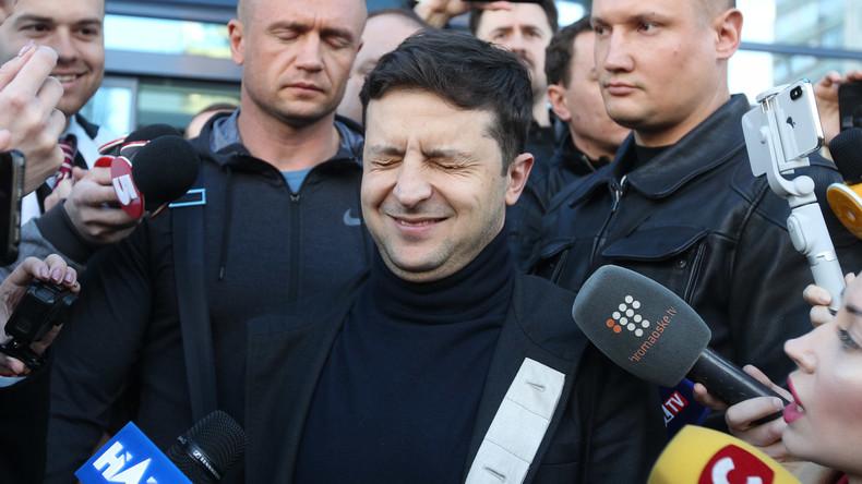 Umfrage kurz vor Stichwahl: Selenskij liegt 47 Prozentpunkte vor Poroschenko