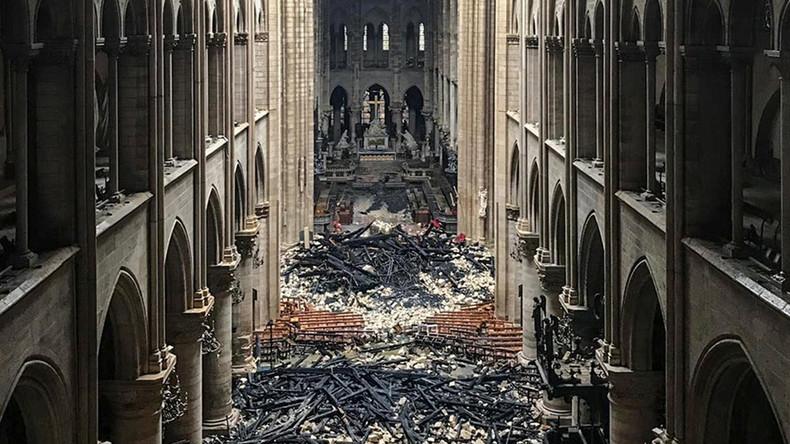 Notre-Dame: Bilder der Pariser Kathedrale nach dem Brand