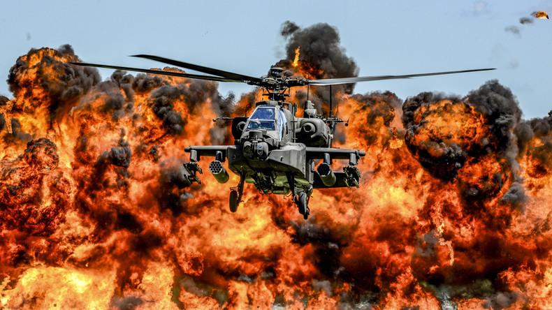 Moskau sieht im Einsatz britischer Hubschrauber in Estland eine weitere Provokation