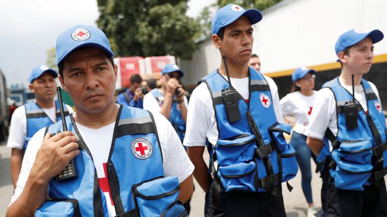Rotes Kreuz verteilt Hilfsgüter an venezolanische Krankenhäuser