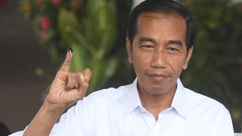 Indonesiens Präsident Joko Widodo vor zweiter Amtszeit