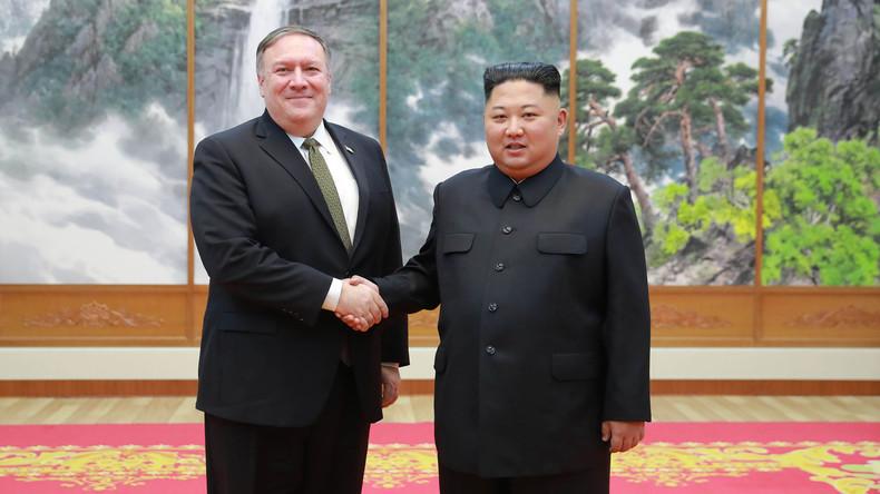 Atomgespräche: Nordkorea will nicht mehr mit Pompeo sprechen
