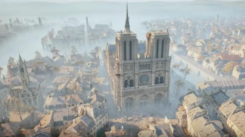 """Laserscans von Notre-Dame für Videospiel """"Assassin's Creed"""" zentral für Wiederaufbau der Kathedrale"""