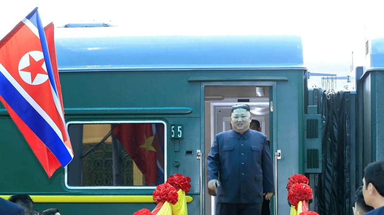 Treffen zwischen Wladimir Putin und Kim Jong-un in Russland in der zweiten Aprilhälfte