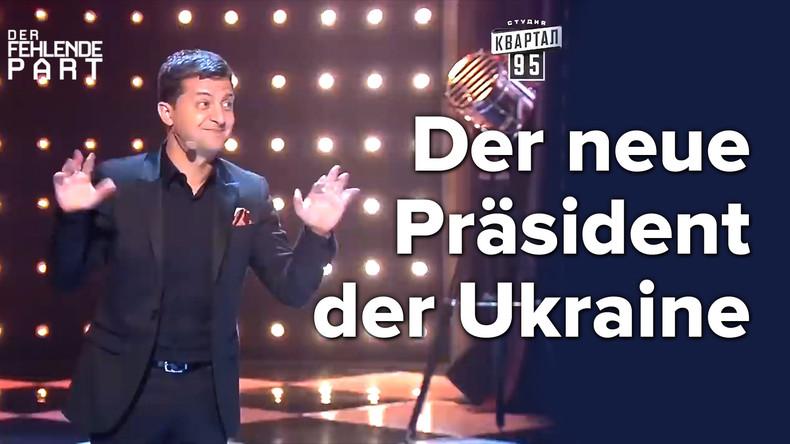 Warum der Komiker Selenskij der nächste Präsident der Ukraine wird