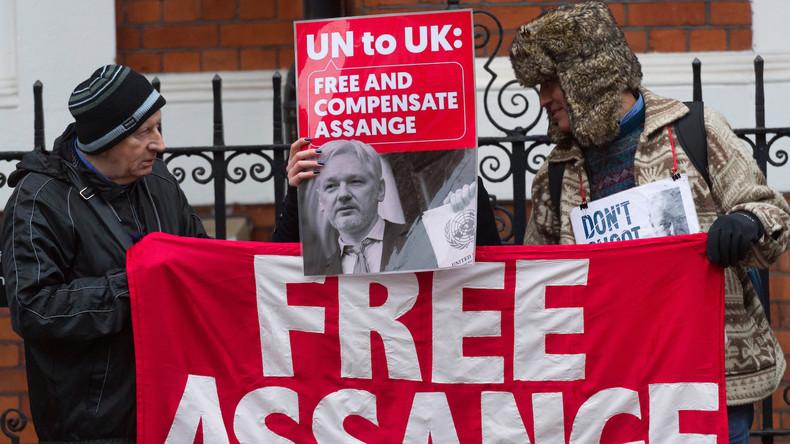 """Assange-Verhaftung: Roger Waters von Pink Floyd """"schämt sich, Engländer zu sein"""""""